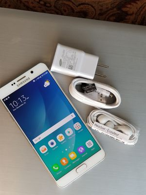 Samsung Galaxy Note5, Factory Unlocked for Sale in Annandale, VA