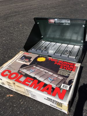 Coleman Two Burner Propane Stove for Sale in Carlsbad, CA