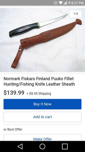Fishing knife. for Sale in Salt Lake City, UT
