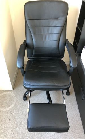 Office synthetic leather reclinable chair for Sale in Cambridge, MA