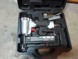 Porter Cable narrow crown nail/staple gun for Sale in Riverton, UT