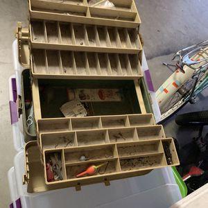 Fishing Tackle Box for Sale in Turlock, CA