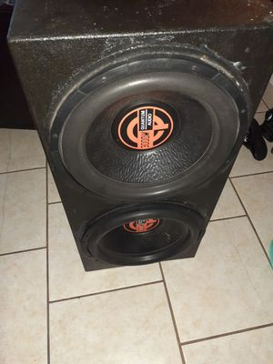"Audio quantum 15"" with pro box for Sale in Channelview, TX"