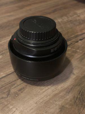 Canon EF 50mm f/1.2 L USM Lens for Canon Digital SLR Cameras for Sale in Clarksville, TN