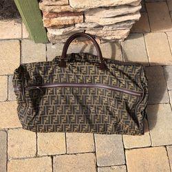 Vintage Fendi Rolling Duffel Bag for Sale in Huntington Beach,  CA