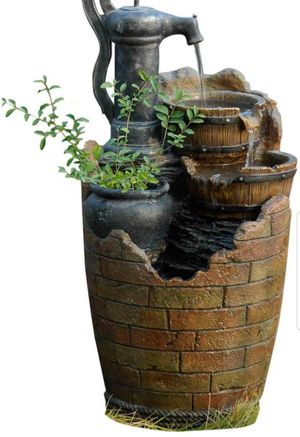 Fountain Garden Lawn Pump Water. BRAND NEW for Sale in Sarasota, FL