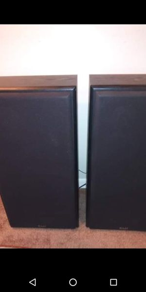 Klh speakers and subwoofer for Sale in Oswego, IL