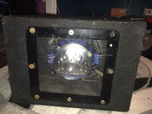 Audiobahn 300 Watt Subwoofer with box for Sale in The Bronx, NY