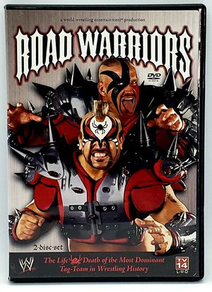 Road Warriors Life Death of the Most Dominant Tag Team WWE 2-DISC SET DVD 2005 for Sale in Harrisonburg, VA