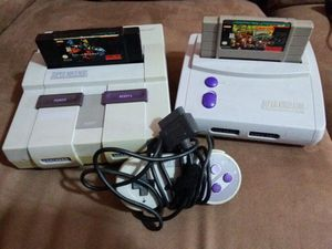 Super Nintendo bundles with one game complete for Sale in Miami, FL