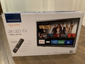 "Brand new 24"" smart tv. Bought on Black Friday. Forgot about it. for Sale in Corona, CA"