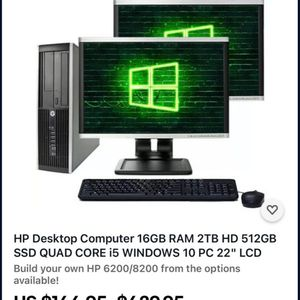 Hp PC for Sale in Austin, TX
