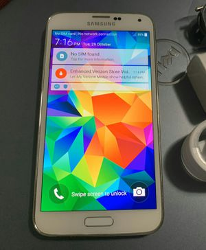 SAMSUNG Galaxy S5, Factory Unlocked..( Almost New Condition) for Sale in Springfield, VA