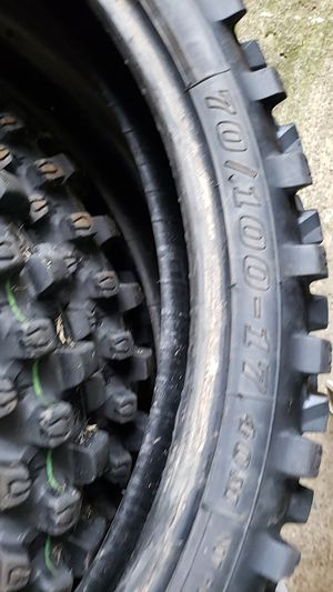 Dunlop Geomax dirt bike tires for Sale in West Mifflin, PA