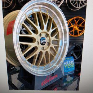 "IPW Custom Wheels Model W882 18"" Fit 5x112 German Cars for Sale in Tempe, AZ"