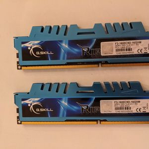 G.SKILL Ripjaws X Series 16GB DDR3 1600 MHz for Sale in Seattle, WA