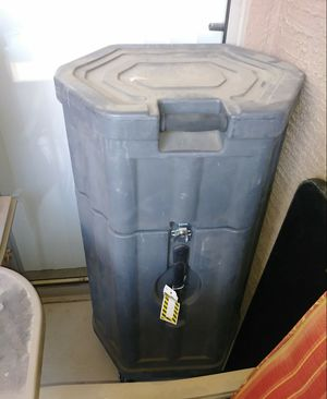 Large plastic container for Sale in Avondale, AZ