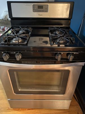 Whirlpool stainless steal stove and fridge. for Sale in Chicago, IL