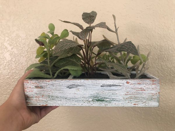 Fake little planter