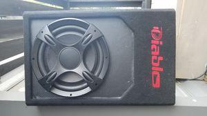 "Diablo 12"" subwoofer powered enclosure for Sale in Dallas, TX"