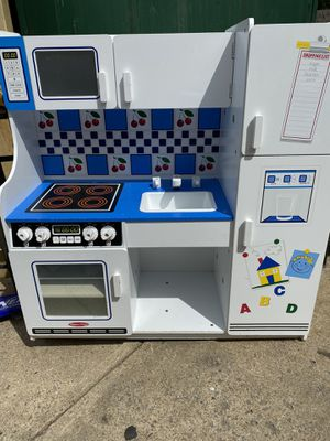 Wooden toy kitchen ,accept offers for Sale in Alexandria, VA