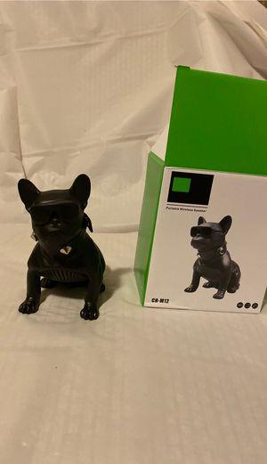 Mini black cool pug wireless speaker for Sale in Fontana, CA