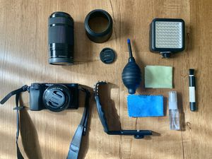 Sony A6000 w/ 2 Lenses, Bag, and Accessories for Sale in Antioch, CA
