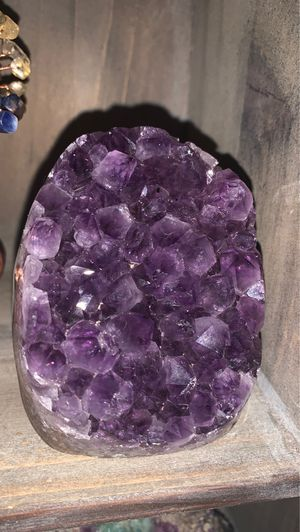Grape jelly Amethyst cluster for Sale in Tacoma, WA