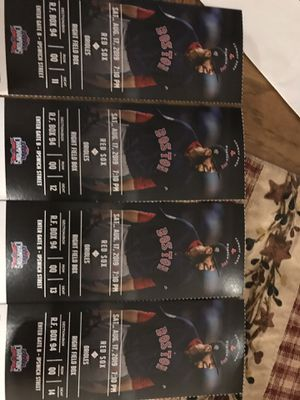 REDSOX TICKETS for Sale in Suffield, CT