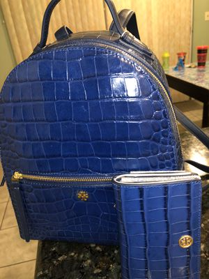 Tory Burch backpack and matching wallet for Sale in Los Angeles, CA