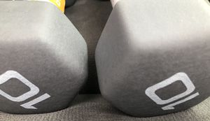 Two Ten Pound Weights for Sale! for Sale in Gaithersburg, MD