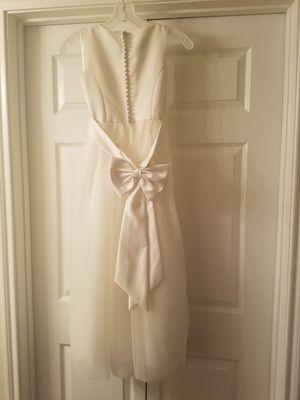 Flower girl or christening dress - David's Bridal for Sale in Austin, TX