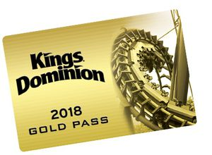 Kings Dominion 2018 Gold Season Pass for Sale in Manassas, VA