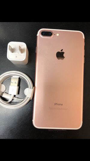 "iPhone 7 Plus 32GB,,factory UNLOCKED excellent CONDITION ""aS liKE neW"" for Sale in Springfield, VA"
