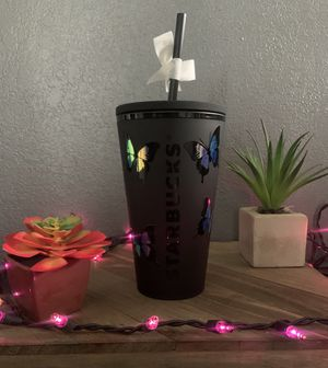 Holographic Butterfly Starbucks Cups for Sale in Lynwood, CA