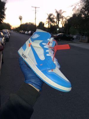 Jordan 1 off white UNC for Sale in Pomona, CA