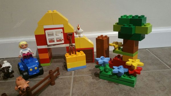 Lego Duplo 6141 My First Farm with Tractor Figures Farm Animals set