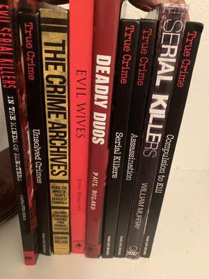 True Crime Book Collection for Sale in Dallas, TX