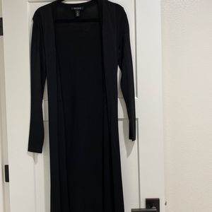 Long Black Cardigan for Sale in Vancouver, WA