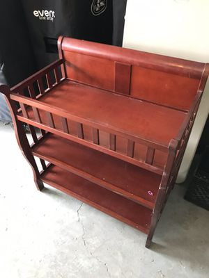 Wood Baby Changing Table for Sale in UPPER ARLNGTN, OH