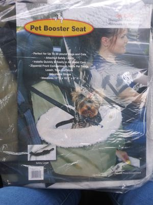 Dog car seat new never used for Sale in Pomona, CA