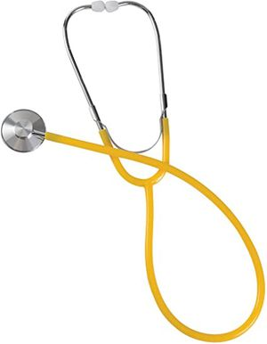 MABIS Spectrum Series Lightweight Nurse Stethoscope, Yellow, 0406_b1-19 for Sale in OH, US