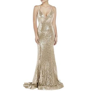 GOLD DRESS 40 obo for Sale in Westminster, CO