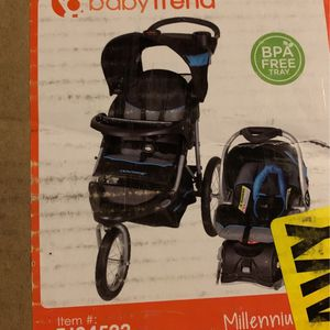 New In Package Baby Trend Expedition Jogging Stroller Combo for Sale in Pittsburgh, PA