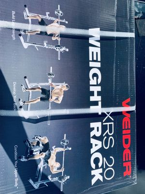 Weight squat rack for Sale in Davie, FL