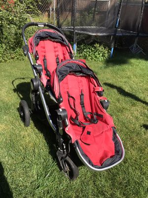 City Select Double Stroller in Red for Sale in Portland, OR