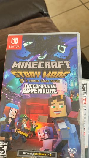 Nintendo SWITCH Minecraft game for Sale in Fontana, CA