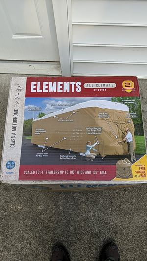 "Elements All Climate RV Cover for Class A fits 34'1"" -37' Brand New! for Sale in Fort Lauderdale, FL"
