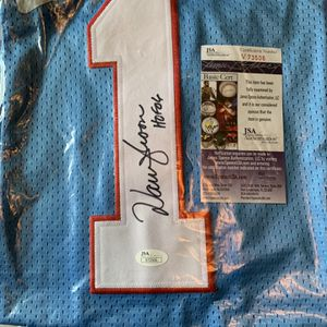 Warren Moon Auto Jersey for Sale in Galloway, OH