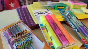Colorful desk Supplies for Sale in Fresno, CA